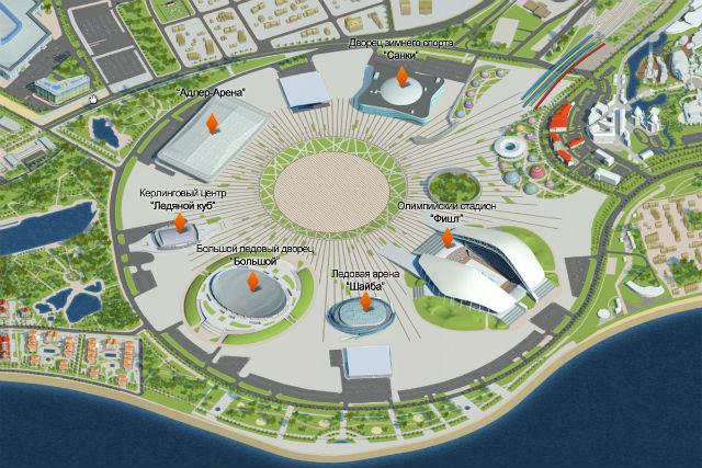 Олимпиада-2014: интересные факты и расписание соревнований (ФОТО, ВИДЕО)