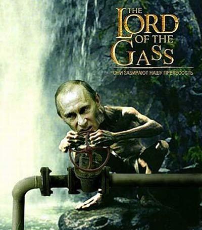 Новый Регион: ''Газовые боги'' добивают старушку-Европу: карикатуристы присоединились к войне за углеводороды (ФОТО)