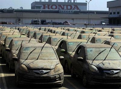 Машины совершенно потеряли товарный вид