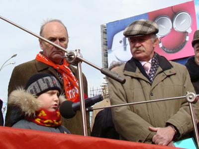 В Москве участники массовой акции протеста потребовали отставки Путина (ФОТО) / Его место на свалке
